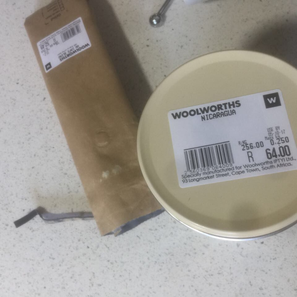 Packaged Beans into Tin