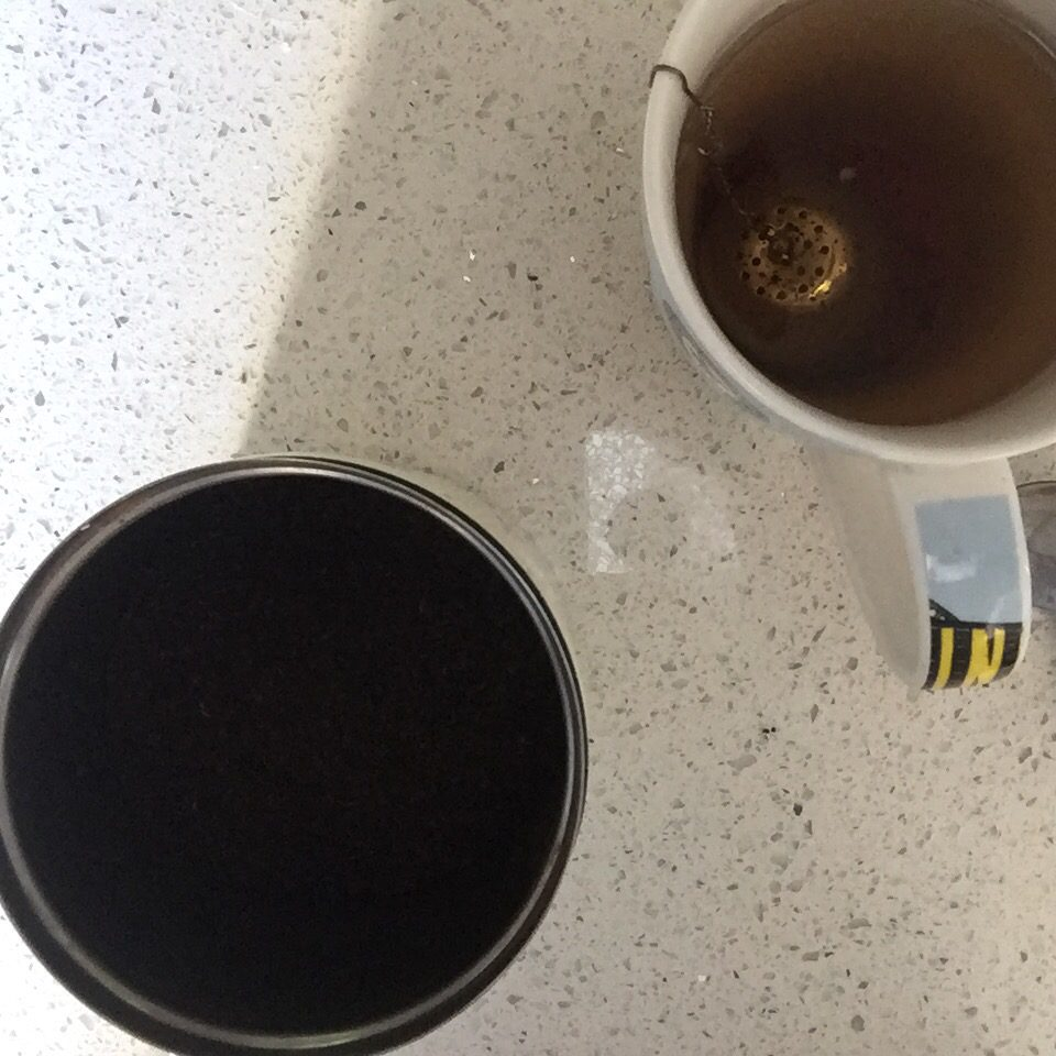Loose Tea and Strainer